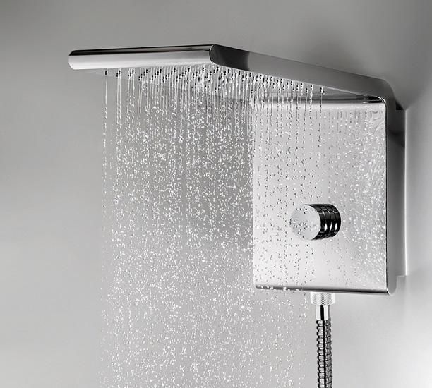 Accessori Bagno Bossini.Bossini Set Soffione Syncro Rain Renovation 3 Getti I00593