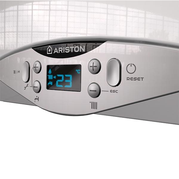 ariston-caldaia-a-condensazione-cares-premium-24-kw-eu-3301119-bianco-con-kit-fumi-coassiale-sdoppiato-display