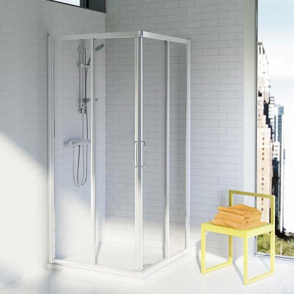 ideal-standard-cabina-box-doccia-ad-angolo-per-piatto-quadrato-tipica-a-85-finitura-silver-brill-ambiente-arredo-bagno