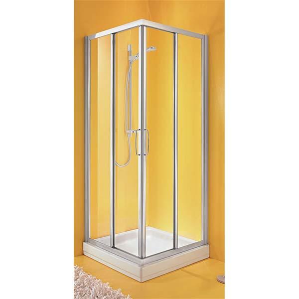 Box Doccia Quadrato.Ideal Standard Cabina Doccia Ad Angolo Per Piatto Quadrato Tipica A 90 Box Doccia Tradizionale Miele Arredo
