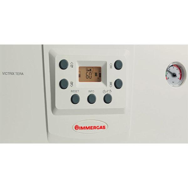 immergas-caldaia-condensazione-victrix-tera-24-incasso-omni-container-kit-fumi-coassiale-sdoppiato-gas-metano-o-gpl-display