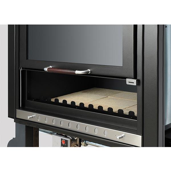 klover-termocamino-kw-28-5-riscaldamento-e-acqua-sanitaria-sicuro-top-tk35p-kit-acciaio-nero-dettaglio
