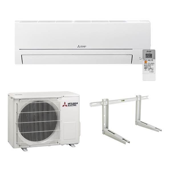 mitsubishi-electric-climatizzatore-condizionatore-inverter-classe-a++-btu-9000-msz-hr25vf-gas-r32-aria-calda-fredda-staffe-fischer