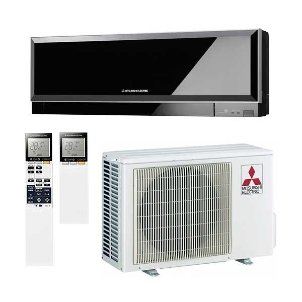 mitsubishi-electric-condizionatore-climatizzatore-inverter-9000-btu-classe-a++-kirigamine-zen-r32-msz-ef25vgb-aria-calda-fredda-colore-nero-black