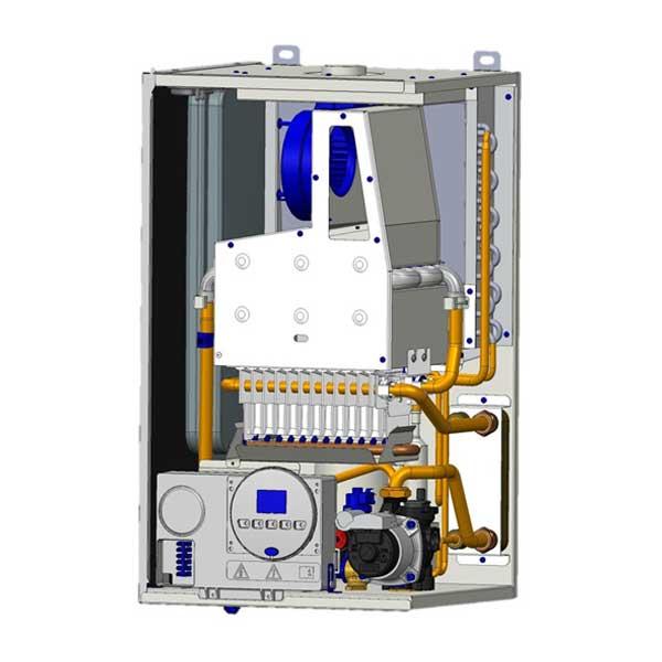 sime-caldaia-camera-stagna-kw.-24-recuperatore-attivo-booster-uniqa-revolution-low-nox-bianco-metano-con-kit-fumi-coassiale-sdoppiato-interno
