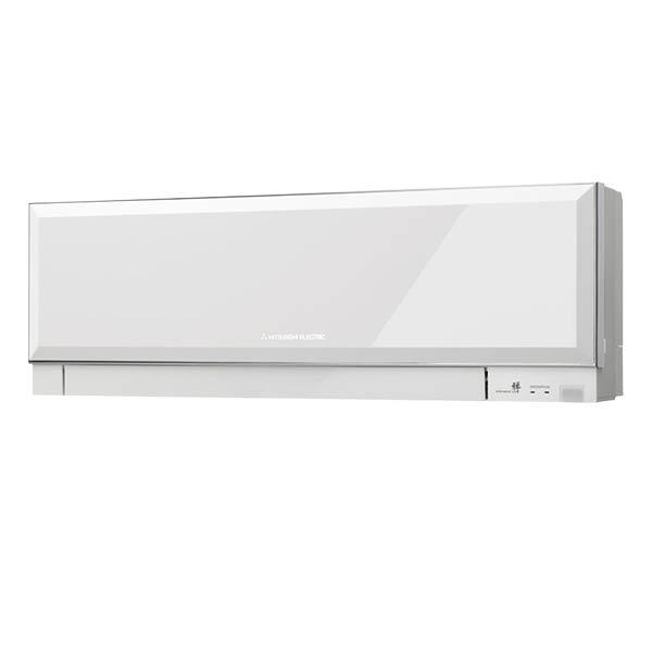 telecomando bianco mitsubishi electric condizionatore climatizzatore inverter 12000 btu classe a++ kirigamine zen r32 msz ef35vgw aria calda fredda colore white bianco