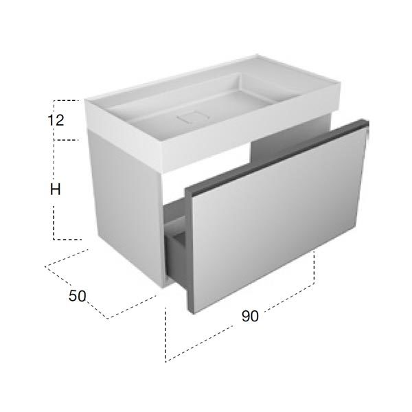 antonio-lupi-atelier-mobile-monoblocco-sospeso-90-cm-laccato-lambretta-con-cassetto-e-piano-lavabo-graffio-ceramilux-dimensioni