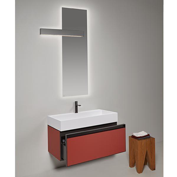 antonio-lupi-atelier-mobile-monoblocco-sospeso-90-cm-laccato-terracotta-con-cassetto-e-piano-lavabo-gesto-ceramilux-arredo-bagno