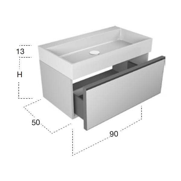antonio-lupi-atelier-mobile-monoblocco-sospeso-90-cm-laccato-terracotta-con-cassetto-e-piano-lavabo-gesto-ceramilux-dimensioni