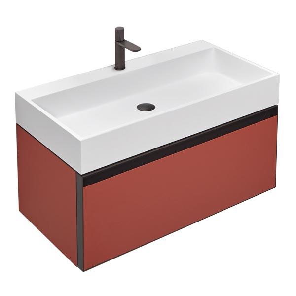 antonio-lupi-atelier-mobile-monoblocco-sospeso-90-cm-laccato-terracotta-con-cassetto-e-piano-lavabo-gesto-ceramilux