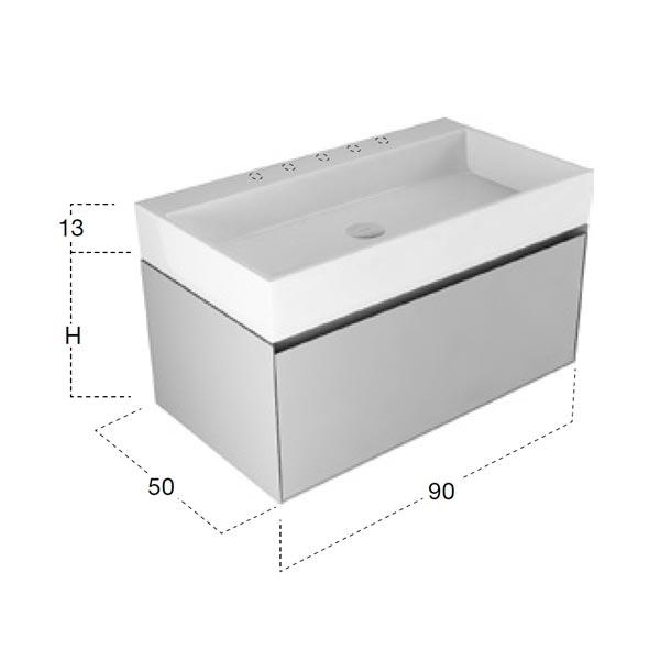 antonio-lupi-gesto-mobile-monoblocco-sospeso-90-cm-laccato-matita-con-cassetto-e-piano-lavabo-in-ceramilux-dimensioni
