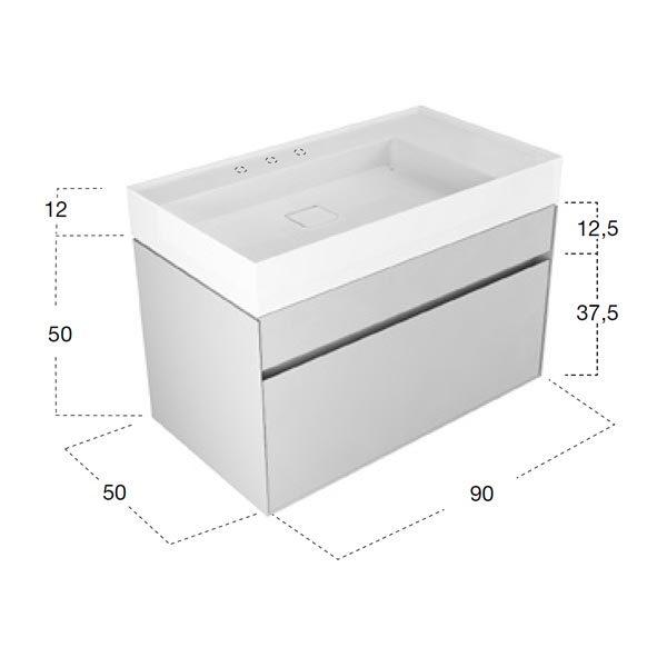 antonio-lupi-graffio-mobile-monoblocco-sospeso-90-cm-laccato-bianco-2-cassetti-con-lavabo-ceramilux-dimensioni