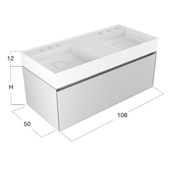 antonio-lupi-graffio-mobile-monoblocco-sospeso-doppio-lavabo-108-cm-finitura-bianco-opaco-con-cassetto-dimensioni