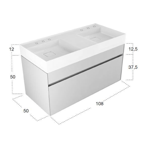 antonio-lupi-graffio-mobile-monoblocco-sospeso-doppio-lavabo-108-cm-finitura-laccata-pompeiano-con-2-cassetti-dimensioni