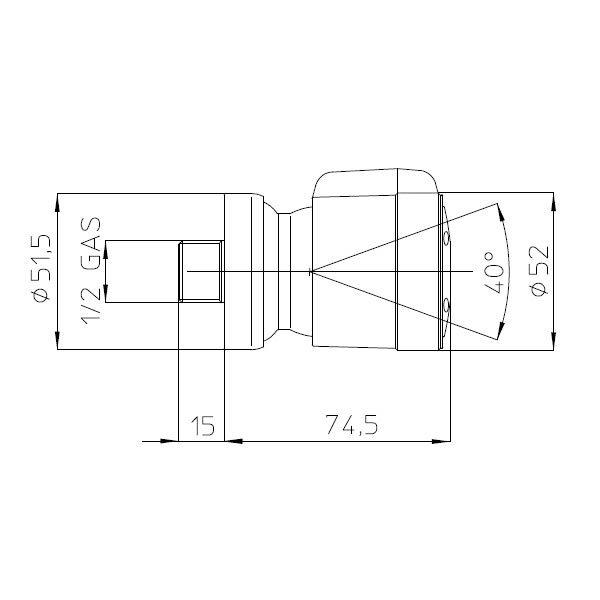 bossini-soffione-doccia-laterale-2-getti-duo-body-spray-ø-52-mm-con-sistema-easy-clean-dimensioni