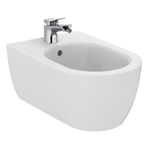 ideal-standard-blend-curve--Bidet-sospeso-monoforo-con-fissaggi-nascosti-T3750