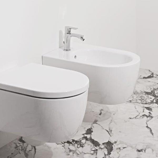 ideal-standard-blend-curve-coppia-sanitari-sospesi-fissaggi-nascosti-vaso-wc-aquablade-+-sedile-soft-close-+-bidet-monoforo