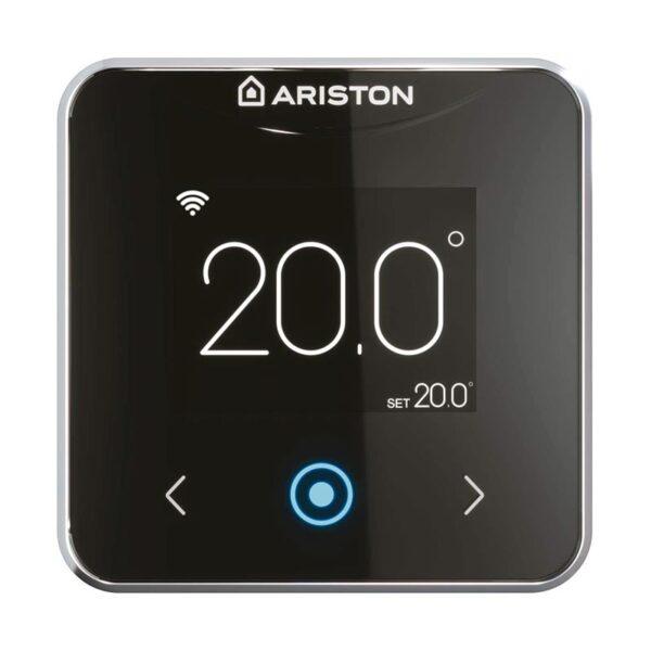ariston-termostato-wi-fi-cube-s-net-nero-3319126-vista-frontale
