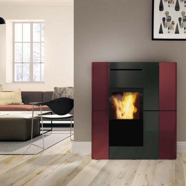 edilkamin-termostufa-a-pellet-blade-h-18-ceramica-bordeaux-installazione