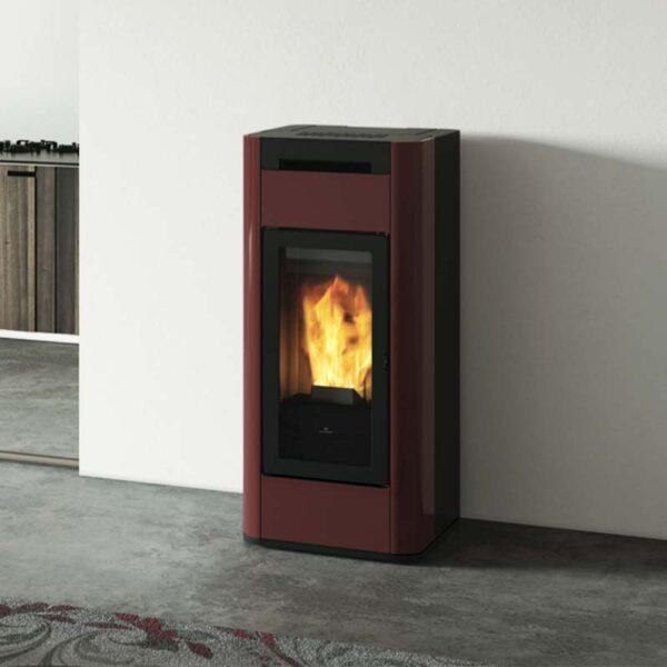 edilkamin-termostufa-a-pellet-tera-h-30-con-wifi-integrato-e-sistema-airkare-in-acciaio-bordeaux