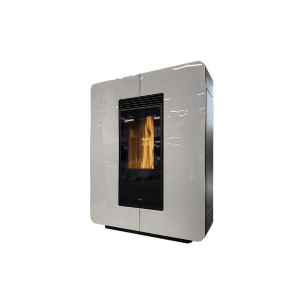 klover-stufa-a-pellet-ventilata-slim-astra-air-glass-8,9-kw-wifi-integrato-classe-a+-colore-glass-white