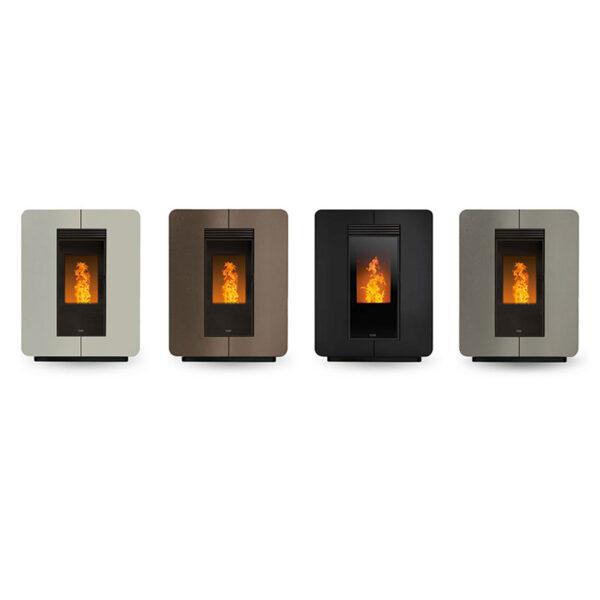 klover-stufa-a-pellet-ventilata-slim-astra-air-steel-8,9-kw-wifi-integrato-classe-a+-vari-colori